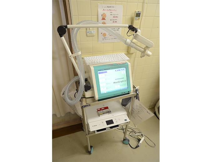 総合呼吸抵抗測定装置